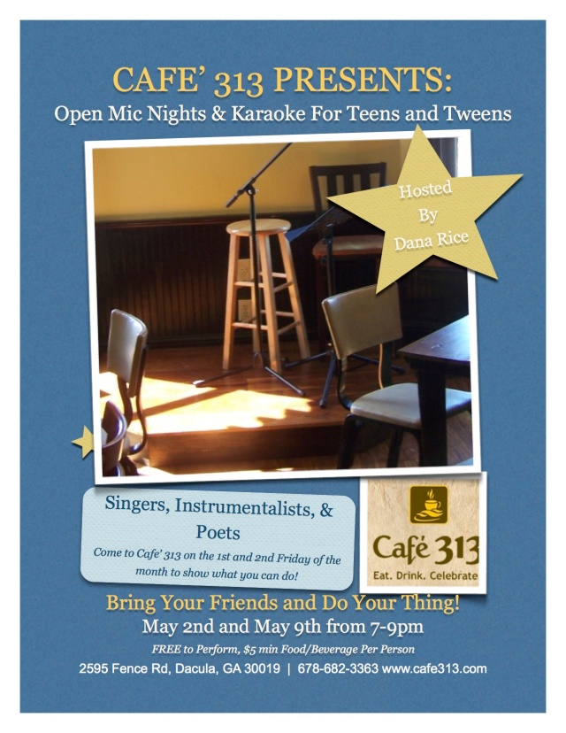 Cafe313openmic
