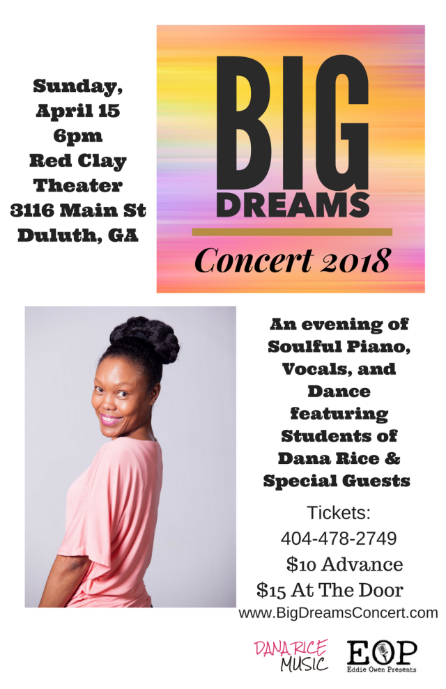 big dreams 2018 Poster2